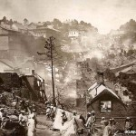 Murree after the fire in 1875