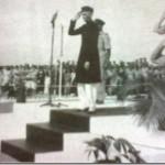 Quaid-i-Azam Muhammad Ali Jinnah visiting PAF base Risalpur in 1947