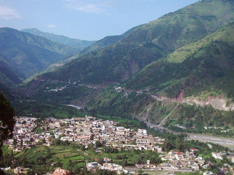 Balakot city- before the earth quake 2005