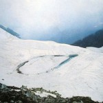 Kaghan Valley -  a view of Lake ansoo with snow