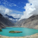 Satpara Lake Skardu  a beautiful view