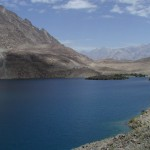 Satpara Lake Skardu  a view
