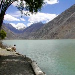 Satpara Lake Skardu  an other view
