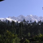 Swat Valley - Kalam Snow covered Mountains