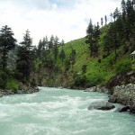 Swat Valley - river swat a colorful water 2
