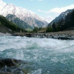 Swat Valley - river swat jumping water