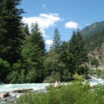 Swat Valley - river swat speedy water