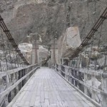Attabad Hunza Lake - Bridge in landsliding Lattest pictures-3