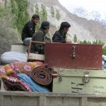 Attabad Hunza Lake - People with their belongings leaving area  Lattest pictures-5