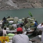 Attabad Hunza Lake - Shifting with the help of boats  Lattest pictures-7