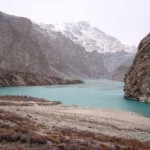 Attabad Lake in Hunza - A view