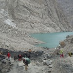 Attabad Lake in Hunza - work continue by FWO