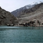 Attabad Lake, Hunza : Water Level reached at 353 feet