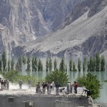 Attabad Hunza Lake - Lattest pics peoples collecting their goods