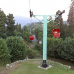 Ayubia chair lift to travel in the air