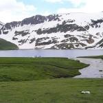 Dodipatsar Lake Snow covered lake