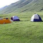 Dodipatsar Lake with camping