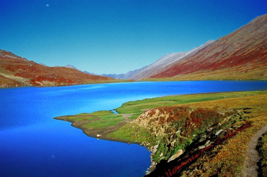 Dudipatsar Lake - a great view with blue water