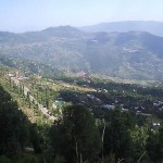Murree city a overview attractive scene
