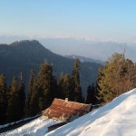 Thandiani - a Snow covered view