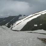 babusar pass-top a snow view