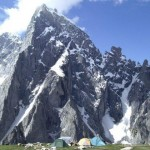Amin Brakk - Nangma Valley - What a attractive view with snow - Height and camp