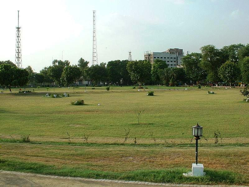 Faisalabad D Ground - a green view