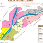 Jhang - District Jhang Town Maps - City Sadar Athara Hazari Shorkot and Ahmad Pur Sial