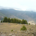 Patriata New Muree - a bird view of valley