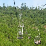 Patriata New Murree - visitors enjoying chair lift