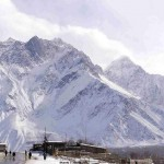 Skardu a attractive view of snow