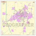 Burewala City Detail Digital Map