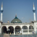 Data Darbar - Data Sahab Lahore - Minarets of Jamia Hajveria