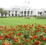 Governor House Lahore - a beautiful view with flowers