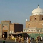 Hazrat Bahauddin Zakariya tomb located at Qilla Kohna Qasim Bagh Multan