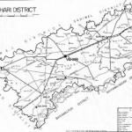 Map of District Vehari