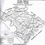 Map of Tehsil Mailsi District Vehari