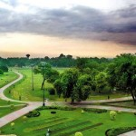 Race Course park Lahore - what a beautiful and attractive view of Park at Jail Road.