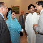 Vehari Famous Politician Mrs Tehmina Doltana with Ch Nisar Ali Ahmad Mukhtar and Prime minister Yousaf Raza Gilani
