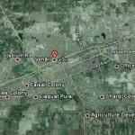 Vehari - Satellite view map of vehari city