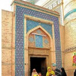 multantiles used in Hazrat Bahauddin Zakariya Multani tomb -  a fantastic art work 2