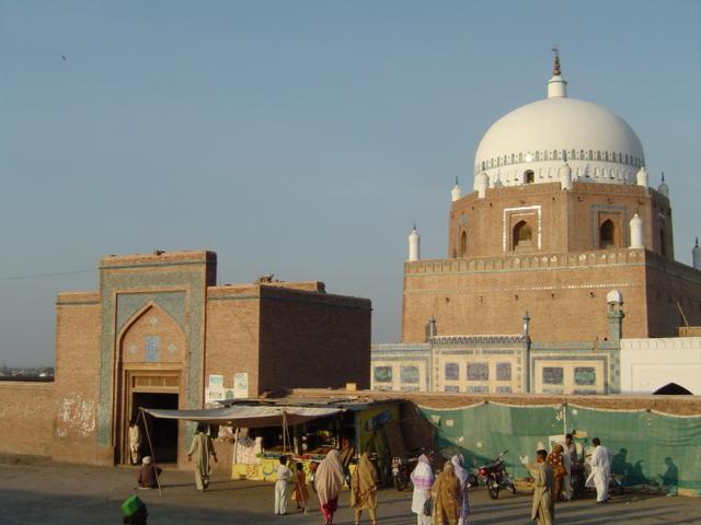 tomb of Bahauddin Zakarya multani
