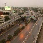 Another attractive view of Shahrah e Faisal Karachi