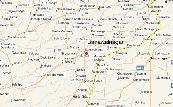Bahawalnagar map 2