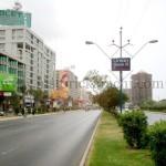 Beautiful view of Shahrah e Faisal Karachi