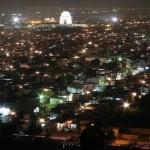 Shahrah e Faisal & Mazar i Quaid at night