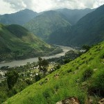 Shangla Swat Valley - Indus river passing through shangla district