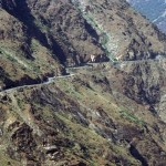 Shangla Swat Valley - Kurakuram Highway passing through Shangla district