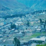 Shangla Swat Valley - a bird view of Besham Town Shangla on KKhighway