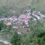 Shangla Swat Valley - a town of Bilkani Pirkhana in Shangla